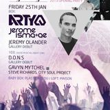 Arty - Live @ Ministry of Sound (London) - 25.01.2013