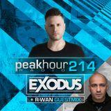 Peakhour Radio #214 - Exodus w/R-Wan (Sept 20th 2019)