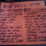 My Artifacts Vol.1:  D.J. Dkenya D. - Acid Jazz House Sides A & B ( 1992 NYC Mixtape )