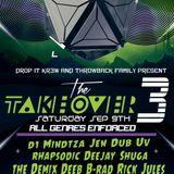 dEEb B2B UV @ The Take Over 3 (9/9/2017)