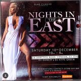 NIGHTS IN THE EAST PROMO MIX SAT 10TH OF DECEMBER