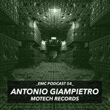 Antonio Giampietro podcast for E.M.C.