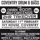 The Palmer DJ at Cov DnB Dark Room Recordings Takeover 11.02.17