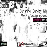 Garden Party Vol 2 - Sunshine Sunday Mix by weeG