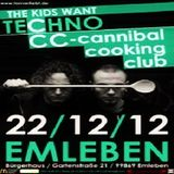 Dr. Schnackets (Live PA) @ THE KIDS WANT TECHNO - Bürgerhaus Emleben - 22.12.2012