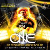 DJ One1 Off the Hookah West Palm Beach 7/15/16