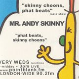Andy SKINNY 12/10/2016 'SKINNY CHOONS, PHAT BEATS' POINT BLANK FM RADIO LONDON UK