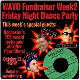 Friday Night Dance Party 10/27/17 w/guest DJ's The 45 Kid, El Destructo & J-Bone on WAYO 104.3