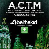 Abel The Kid @ ACTM (Fabrik, Madrid) [26-12-2015]