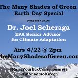 #1516: Earth Day Special with Dr. Joel Scheraga, EPA Senior Advisor