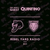 THE PARTYSQUAD PRESENTS - REBEL YARD RADIO 031