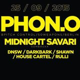 MIDNIGHT SAVARI : LIVE @ ENTER THE VOID, COLOSSEUM CLUB, JAKARTA