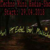 Poulos @ Hard Techno Mini Radio Show Mix 2018.04.29.