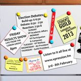 Guild Election Debate Show: VP Welfare & Community