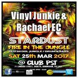 Vinyl Junkie & Rachal EC @ Stardust 3, Club PST, Birmingham. Saturday 25th March 2017