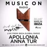 Anna Tur & Apollonia. It's all about the Music DJ Mix Series - Episode 110 - 04.08.2017