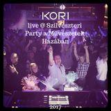 Kori live @ Szilveszteri Party a Művészetek Házában 2017