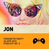 Jon @ Freenetik Party, Timisoara, RO - 25 Apr 2015
