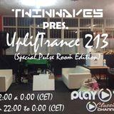 Twinwaves pres. UplifTrance 213 (25-10-2017) (Special Pulse Room Edition)