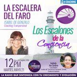 LA ESCALERA DEL FARO CON ISABEL DE GONZALO-05-21-19-LOS ESCALONES DE LA CONCIENCIA