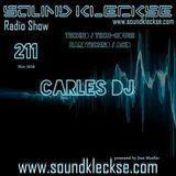 Sound Kleckse Radio Show 0211 - Carles DJ - 14.11.2016