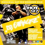 DJ FATFINGAZ LIVE ON HOT 97 MEMORIAL DAY MIX WEEKEND 2019