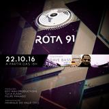 Rota 91 - 22/10/2016 - convidado - Dave Bass - Berlin