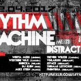 WestsideWax @Rhythm Machine Meets DistractAir 22.4.2017