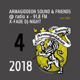 @ X-Fade DJ-Night - 03.04.18 ls Bukzee (Hightune) & Jinjaman