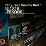 03.10.16 Jeekoos on PTS Radio WNUR Chicago