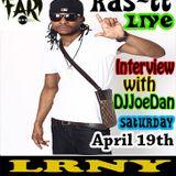 RasTT Interview With DJJoeDan Live On Liberated Radio 4/19/14 #VybezUpSats