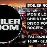 Dj RogerC - Set 016 ( Boiler Room 2016  Tech House Session 10-16 )
