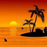 Ceki Naked onTropical Island