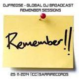 Djfredse - Global DJ Broadcast  Remenber Sessions (cc)Sarrirecords - 25-Novenber-2014