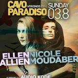 Nicole Moudaber - Live at Cavo Paradiso (Mykonos, Greece) - 03-Aug-2014