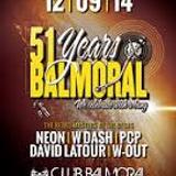dj PCP @ 51 Years Balmoral 12-09-2014