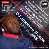 DJ Byron Johnson Presents The Deep House Session Live On HBRS 08 - 03 -18