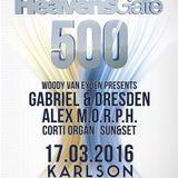 Woody van Eyden - Live @ Heavensgate 500, Karlson Club (Frankfurt) - 17.03.2016