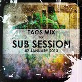 Sub Session Podcast: 30'D'n'B mix (January 2013)