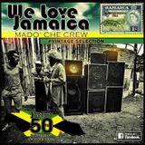WE LOVE JAMAICA - Madò Che Crew vintage selection.