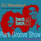 2016/12/20: Rare Grooves, 2step Soul Special on Back2Backfm.net