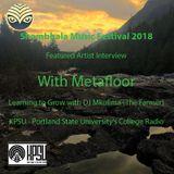Metaphors with Metafloor - Shambhala 2018 Featured Artist Interview