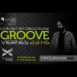 Groove #18 @ Vorterix Bahía (emitido el 12-05-17)