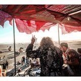 Thomas Jack b2b TRAVISWILD Sunrise Set @ Burning Man on The Janky Barge