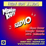 Midnight Riot Radio with guest Seamus Haji host Yam Who? 31 - 1 -20
