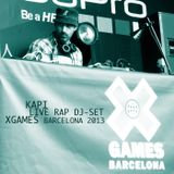 Rap Live DJ-Set X-Games Barcelona 2013