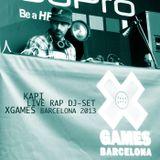 Rap Live DJ-Set X-Games Barcelona 2013