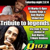 wild West Reggae Show with Dj Marko on Q103 FM Maui (Vol. 39 Hr 1)