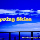 Spring Skies Mixed by Georgie Gitz