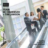 Team W/ Chukwudi & Tim Lawson: 23-05-17